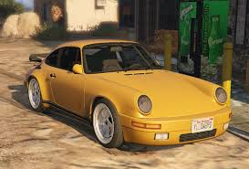 porsche yellow bird ruf ctr yellow bird add on replace vehicules pour gta v sur