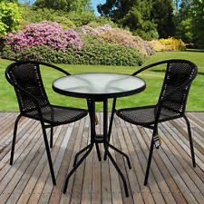 outdoor cafe table and chairs outdoor bistro table ebay