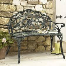 Amazon Com Outdoor Patio Furniture - iron garden bench home outdoor decoration