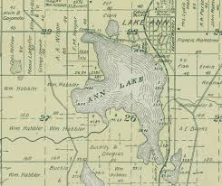 Map Of Michigan Lakes Lake Ann Grand Traverse Journal