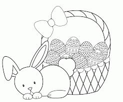 easter basket coloring pages printable easter egg basket colouring