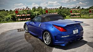 nissan roadster nissan 350z roadster wallpapers hd convertible blue silver black