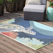 Teal Area Rug Thin Pile Outdoor Rugs Birch