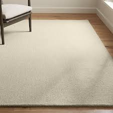 wool rug quinn natural wool rug crate and barrel