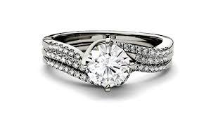bridal ring sets moissanite bridal sets engagement ring sets charles colvard