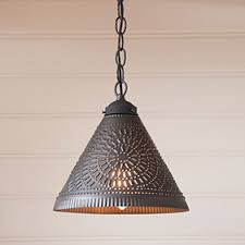 punched tin lighting fixtures country farmhouse lighting irvins tinware