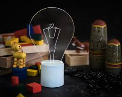 exposed bulb lamp etsy