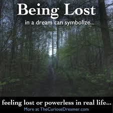 Being Blind In A Dream Image Gallery Of Being Lost In A Dream