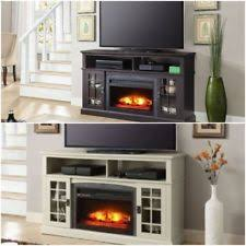 White Electric Fireplace Tv Stand White Electric Fireplace Ebay