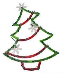 Outdoor Lighted Christmas Star Decoration by The Holiday Aisle Lighted Christmas Tree With Star Ornaments