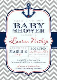 nautical baby shower invitations cloveranddot com