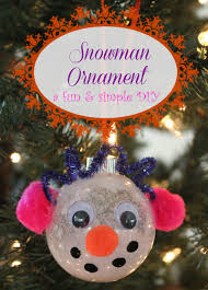 diy snowman ornament house of fauci s