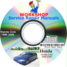 100 honda civic 1996 2000 service manual used 2002 honda