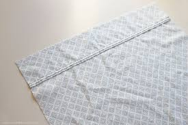 How To Make A Fitted Tablecloth For A Rectangular Table Envelope Closure Pillowcase For Bed Pillows Make It And Love It
