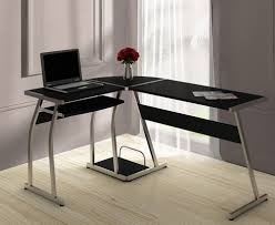 L Shaped Home Office Desk With Hutch by Stylish L Shaped Pc Desk Abreo Home Furniture