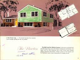 hodgson houses the first pre fabricated homes in the u s retro 1954 hodgson house brochure split level house the