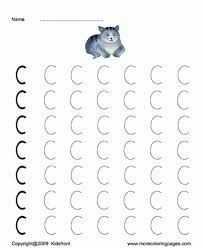 printable capital letter dot to dots c coloring worksheets free