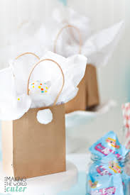 Diy Easter Gifts Easter Bunny Gift Bags