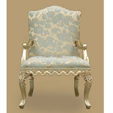 French Armchair Uk Antique French Armchair Silver Leaf Antique Reproduction