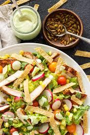 Chicken Main Dish - southwest chicken salad with avocado lime dressing recipe runner