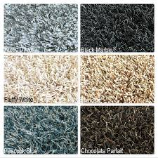 Thick Area Rugs Bling Indoor Shaggy Thick Area Rug Available In 23 Colors