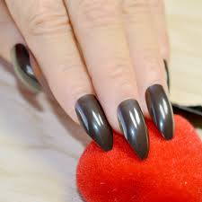 online get cheap black tip acrylic nails aliexpress com alibaba