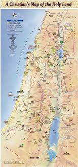 holy land pilgrimage catholic a christian s map holy land pilgrimage