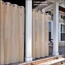 curtain privacy screen made from pvc pipe and outdoor fabric