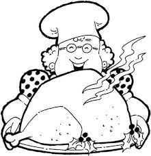 thanksgiving dinner coloring pages coloring pages for