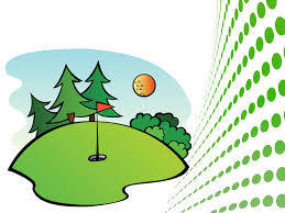 golf course sports ppt backgrounds sports templates ppt grounds