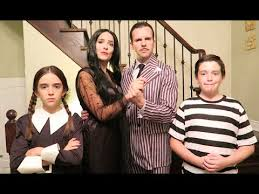 Addams Family Halloween Costumes Addams Family Transformation