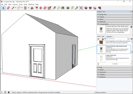 adding premade components and dynamic components sketchup