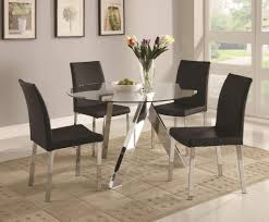 Low Dining Room Table Dining Room Low Price Glass Dining Room Table And Black