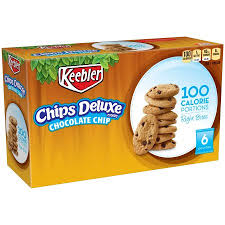 keebler 100 calorie right bites chips deluxe chocolate chip