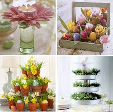 easter decorations for the home how to decorate kitchen table for easter table centerpiece