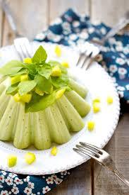 cuisiner des poivrons verts saveurs végétales petit flan de poivrons verts au basilic