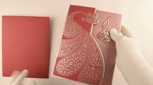islamic wedding card d 7600 pink color laser cut cards muslim cards muslim wedding