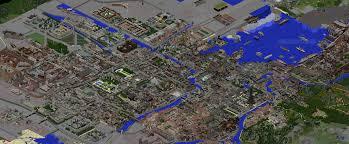 Minecraft America Map by Xixth Century City Map Minecraft Project