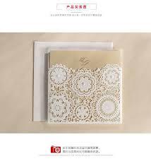 Wholesale Wedding Invitations 2016 Wholesale Wedding Invitations Card Vintage Hollow Lace Laser
