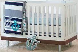 just born high seas 3 piece crib bedding set babies