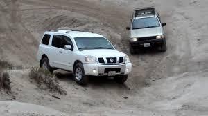armada jeep nissan nissan armada pathfinder in gorman offroading pronghorn trail