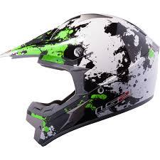 motocross helmets canada ls2 mx433 43 blast white black green motocross helmet moto x atv