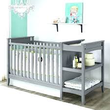 baby crib attached to bed crib with attached changing table white baby cribs with changing