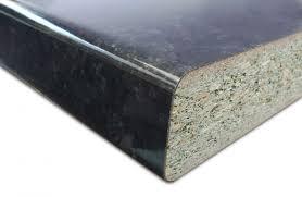 plan de travail stratifié cuisine plan de travail stratifié granit noir brillant 3040x645x38 plan