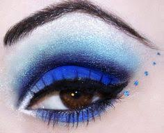this looks almost like my last years winterguard makeup guard u003c3