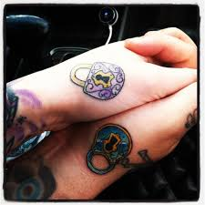 locks cool matching tattoos for couples tattoomagz
