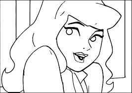 beautiful daphne scooby doo coloring page wecoloringpage