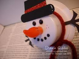sting with di less tealight snowman