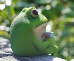 Bachelor Frog Meme - 3d printed bachelor frog