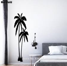 popular silhouette tree wall decal buy cheap silhouette tree wall mad world huge palm trees beautiful silhouette wall art stickers wall decal home diy decoration